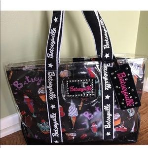 Betseyville ice cream printed clear tote food